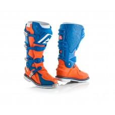 Боти ACERBIS X-MOVE 2.0 синій-помаранчевий