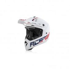 Шолом Acerbis Offroad Helmet Steel Carbon білий