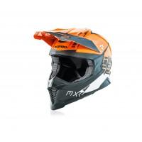 Шолом ACERBIS X-RACER VTR помаранчевий-сірий