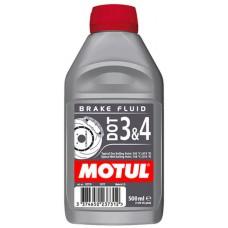 Гальмівна рідина MOTUL DOT 3&4 0,5L