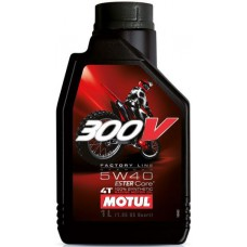 Масло MOTUL 300V FACTORY LINE OFF ROAD 5W40 1L