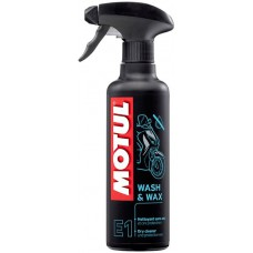 Очисник для мотоцикла MOTUL E1 WASH & WAX 0,4L