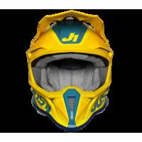 Шолом JUST1 J18 PULSAR жовтий-синій L