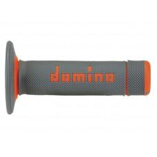 Гріпси DOMINO OFF-ROAD сірий-помаранчевий
