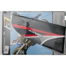 Чехол на сидіння BLACKBIRD HONDA CR 125/250 02-07 чорний-червоний