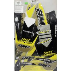 Комплект наклейок BLACKBIRD SUZUKI RMZ 250 04-06