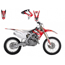 Комплект наклейок BLACKBIRD HONDA CRF 450R 13-16, CRF 250R 14-17 DREAM 3