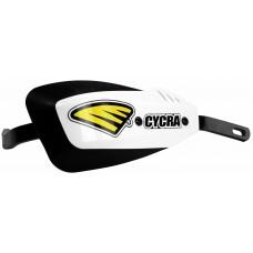 Захист рук CYCRA Bar Series алюміньовий з кріпленням (28,6 mm) білий