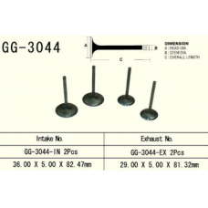 Випускний клапан VESRAH SUZUKI DRZ 400 00-13, LTZ400 03-13