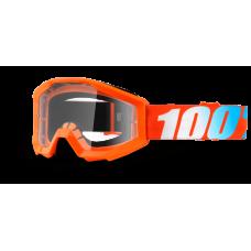 Окуляри 100 % STRATA JR помаранчевий