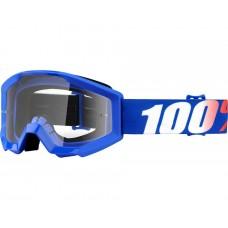 Окуляри 100 % STRATA JR синій