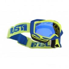 Окуляри JUST 1 IRIS TRACK жовтий-синій