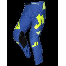 Штани JUST1 J-FLEX ARIA синій-кислотний