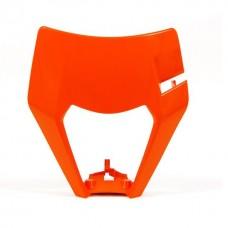 Захист лампи RACETECH ПЕРЕД KTM EXC/EXCF 17-18 помаранчевий