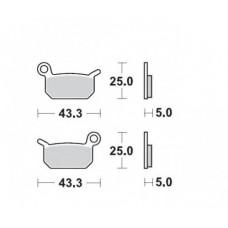 Гальмівні колодки MOTO-MASTER RACING (0947-11)