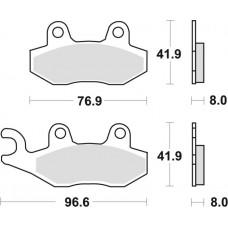 Гальмівні колодки MOTO-MASTER NITRO (919-21)