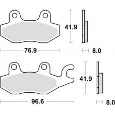 Гальмівні колодки MOTO-MASTER NITRO (926-21)