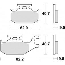 Гальмівні колодки MOTO-MASTER RACING (0942-11)