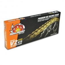 Ланцюг MOTO-MASTER V2-415G MX RACING GOLD