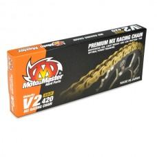 Ланцюг MOTO-MASTER V2-420G MX RACING GOLD