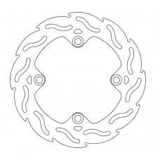 Задній гальмівний диск MOTO-MASTER FLAME KTM, HUSQVARNA FACTORY 220mm/4,4mm