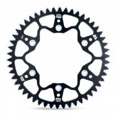 Задня зірка MOTO-MASTER (489 48) KAWASAKI KX/KXF, SUZUKI RMZ алюміній чорний