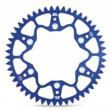 Задня зірка алюміній MOTO-MASTER (270 49) YAMAHA YZ/YZF, WRF синій