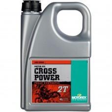 Масло MOTOREX CROSS POWER 2T 4L