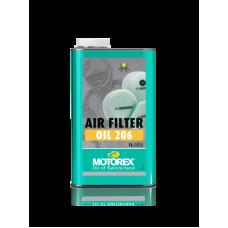 Мастило для повітряного фільтра MOTOREX 206 1L