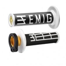 Гріпси ODI MX V2 EMIG RACING чорний-білий