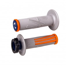 Гріпси ODI EMIG PRO V2 RACING сірий-помаранчевий