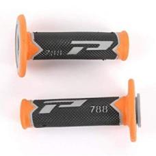 Гріпси PROGRIP 788 OFF ROAD (22+25MM, DL.115MM) помаранчевий-сірий-чорний