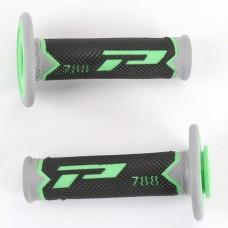 Гріпси PROGRIP 788 OFF ROAD (22+25MM, DL.115MM) зелений-чорний-сірий