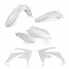 Комплект пластику HONDA CRF 250 R 11-13 CRF 450 R 11-12 білий