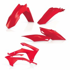 Комплект пластику HONDA CRF 250 R 14-17 CRF 450 R 13-16 червоний