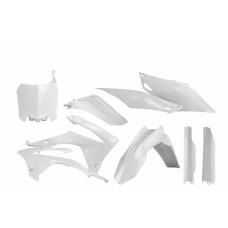 Повний комплект пластику HONDA CRF 250 R 14-17 CRF 450 R 13-16 білий