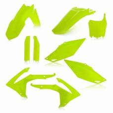 Повний комплект пластику HONDA CRF 250 R 14-17 CRF 450 R 13-16 жовтий-2