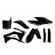 Повний комплект пластику HONDA CRF 250 R 14-17 CRF 450 R 13-16 чорний