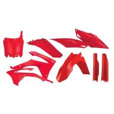 Повний комплект пластику HONDA CRF 250 R 14-17 CRF 450 R 13-16 червоний