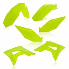 Комлект пластику HONDA CRF 250 R 2018 CRF 450 R 2017-2018 жовтий-2