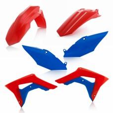 Комлект пластику HONDA CRF 250 R 2018 CRF 450 R 2017-2018 червоний/синій