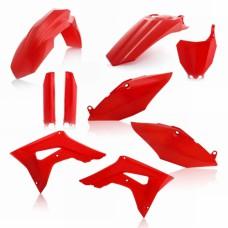 Повний комплект пластику HONDA CRF 250 R 2018 CRF 450 R 2017-2018 червоний