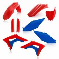 Повний комплект пластику HONDA CRF 250 R 2018 CRF 450 R 2017-2018 червони/синій