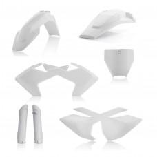 Повний комплек пластику ACERBIS HUSQ FC 125-450 16-18/TC 250 17-18/TC 350 16-18 білий