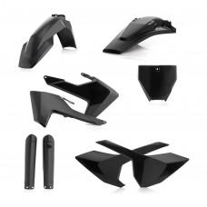 Повний комплек пластику ACERBIS HUSQ FC 125-450 16-18/TC 250 17-18/TC 350 16-18 чорний