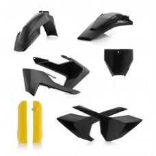 Повний комплек пластику ACERBIS HUSQ FC 125-450 16-18/TC 250 17-18/TC 350 16-18 чорний/жовтий