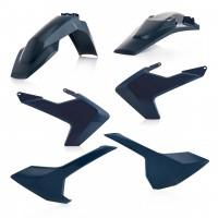 Комплект пластику  Acerbis  FULL KITS HUSQVARNA TE-FE 17-19 синій
