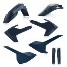 Повний комплект пластику ACERBIS HUSQVARNA FE 250/350/450/501 TE 125/250/300 17-18 синій