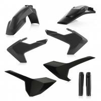 Повний комплек пластику  Acerbis  FULL KITS HUSQVARNA TE/FE 17-19 чорний