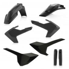 Повний комплект пластику ACERBIS HUSQVARNA FE 250/350/450/501 TE 125/250/300 17-18 чорний